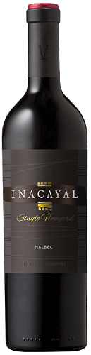 Inacayal Single Vineyard Malbec Mendoza 2017